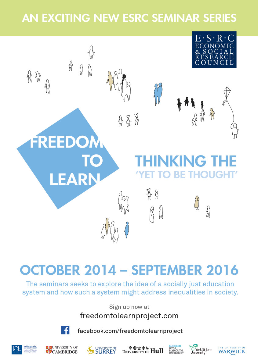 Freedom to learn website image