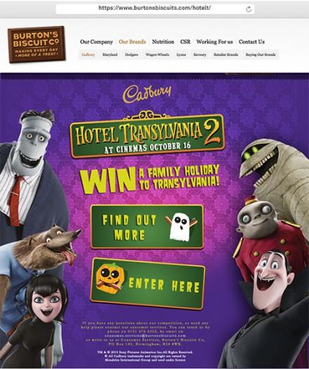 Hotel Transylvania 2 competition