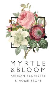 Myrtle & Bloom logo