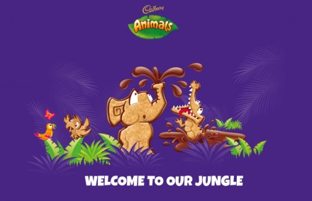 Cadbury Animals website