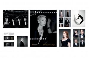 bafta backstage exhibition catelogue by Longarm design